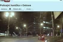 Záběry z policejniho videa