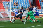 Utkaní 7. kola fotbalové FORTUNA:LIGY: FC Baník Ostrava - 1. FC Slovácko, 23. srpna 2019 v Ostravě. Na snímku (vlevo) Jiří Fleišman.
