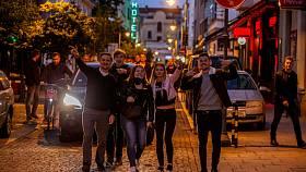 Ostravská ulice Stodolní po uvolnění opatření proti šíření koronaviru.