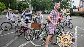 Třetí ročník pyžamová jízda Ostravou, 3. července 2020 v Ostravě.