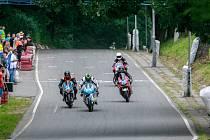 Motocyklové závody na Okruhu Františka Bartoše 2017.