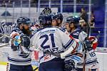 Utkání 39. kola hokejové extraligy: HC Vítkovice Ridera - Mountfield Hradec Králové, 24. ledna 2020 v Ostravě. Na snímku radost Vítkovic.
