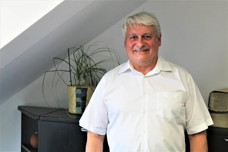 Starosta Jan Blažek.