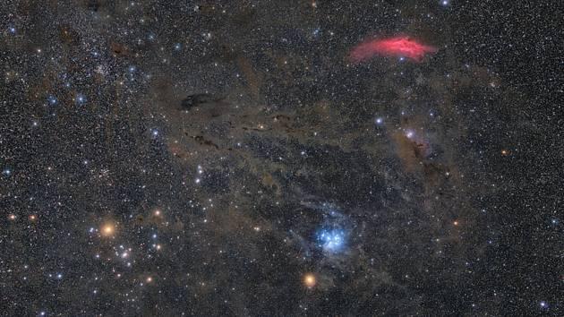 Autorem fotografie nazvané Mars in Taurus (Mars v Býku) je Petr Horálek.