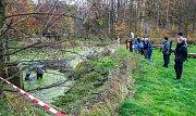 Výlov rybníku v ostravské ZOO, sobota 11. listopadu 2017.
