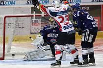 Extraligové utkání HC Vítkovice Steel - HC ČSOB Pojišťovna Pardubice
