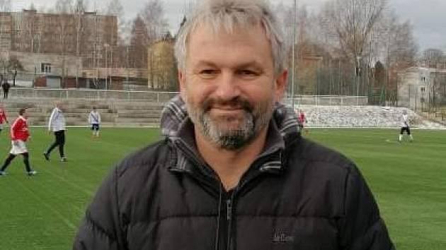 """Martin Blahuta je v současnosti trenérem FK Staříč. """"Fotbal je láska na celý život,"""" říká."""