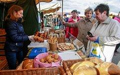 Farmářské trhy v Ostravě. Ilustrační foto.