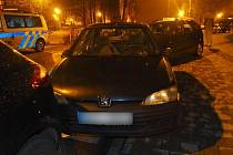 V pondělí před půlnocí havaroval v Karviné šestadvacetiletý řidič.