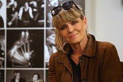 Francouzská herečka a zpěvačka Chantal Poullain.