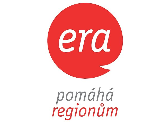 Logo grantový program Era pomáhá regionům.