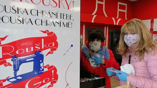 Automaty na roušky a další zdravotnické potřeby by se již brzy měly objevit v ulicích Ostravy. Ilustrační foto.