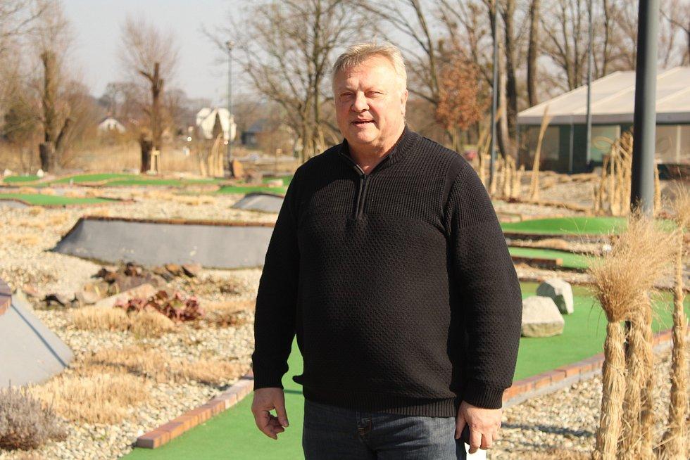 Provozovatel Golf Parku Lhotka Petr Konečný.