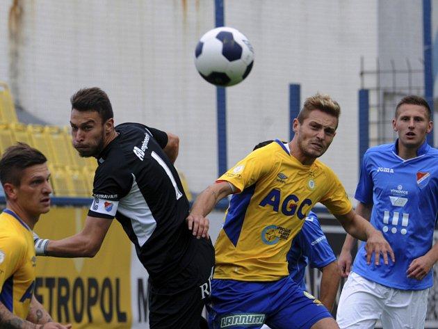 Fotbalisté Baníku Ostrava prohráli sobotní zápas 8. kola první ligy v Teplicích a s bodem zůstávají v tabulce poslední.