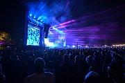Hudební festival Colours of Ostrava 2018 v Dolní oblasti Vítkovice, 21. července 2018 v Ostravě. Na snímku DJ Kygo.