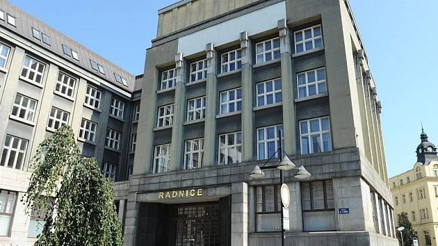 Radnice obvodu Moravská Ostrava a Přívoz. Ilustrační foto.
