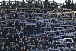 Zápas fotbalové Fortuna ligy mezi Spartou Praha a Baníkem Ostrava na Letné.