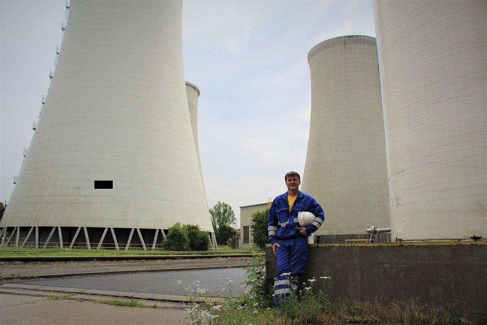 Tomáš Volovský z třebovické elektrárny.