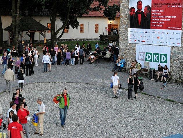 Shakespearovské slavnosti v Ostravě. Ilustrační foto.