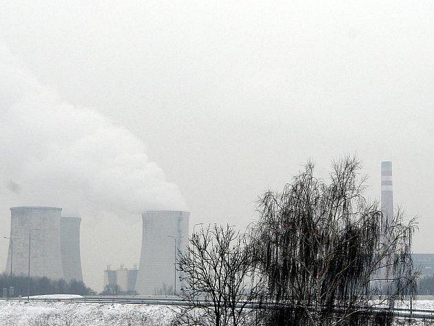 Smog - Ostrava. Ilustrační foto.