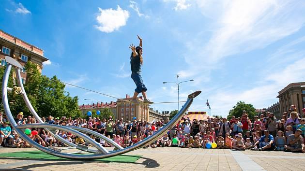 Cirkulum v Ostravě-Porubě. Ilustrační foto z předchozích ročníků.