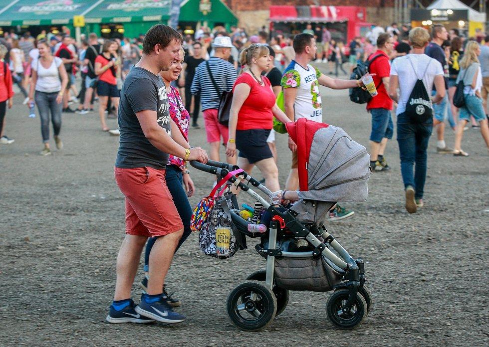 Ostravské festivaly Beats for love a Colours of Ostrava v Dolní Oblasti Vítkovice. Ilustrační foto.