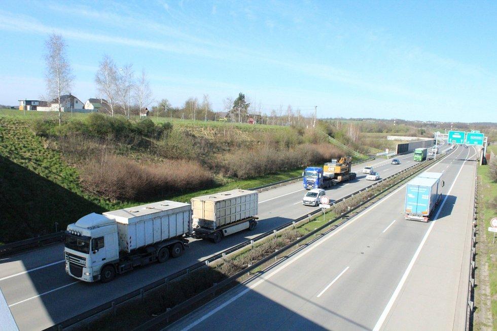 Hluk z dálnice obtěžuje především obyvatele přilehlých Václavovic.
