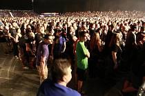 Legenda nu metalu Korn navštívila v rámci turné na oslavu dvaceti let existence i Ostravu.