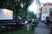 Letní kino v Krnově. Ilustrační foto.