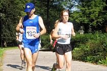 Maraton v Ostravě.