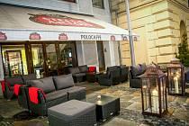 Ostravská kavárna Polo Caffé na Masarykově náměstí funguje už třetím rokem.