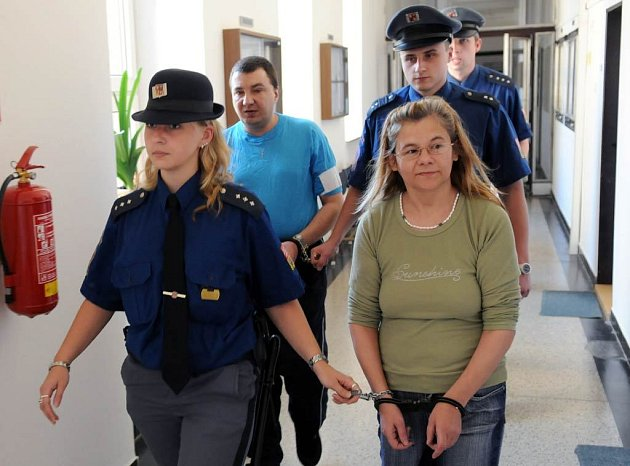 Mária Trebulová a Vladislav Radecký u ostravského krajského soudu