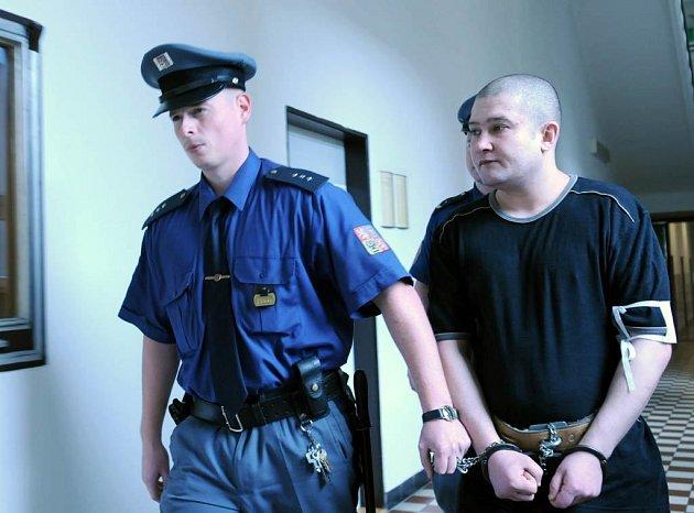 Karel Mitrenga u u ostravského krajského soudu