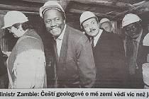 Deník Svoboda, 13. 3. 2001, Syamukayumbu Syamujaye, druhý zleva.