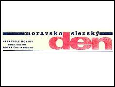 Hlavička Moravskoslezského dne.