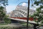 NÁVRH.  Autor Radim Václavík představil jednoduché a nenáročné zkrášlení mostu Miloše Sýkory.