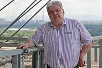 V Dolní oblasti Vítkovic na Bolt Toweru měl pracovní schůzku.