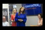 Slavnostní křest knihy Hornické vdovy od Kamily Hladké.