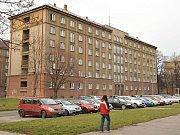 Ubytovna v Čujkovově ulici v Ostravě-Zábřehu.