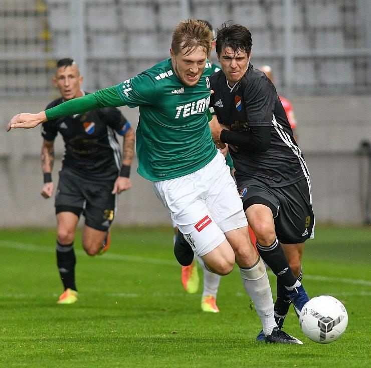 David Buchta - FORTUNA:LIGA - Skupina o titul, 5. kolo - FK Jablonec - FC Baník Ostrava, 8. července 2020 v Jablonci.