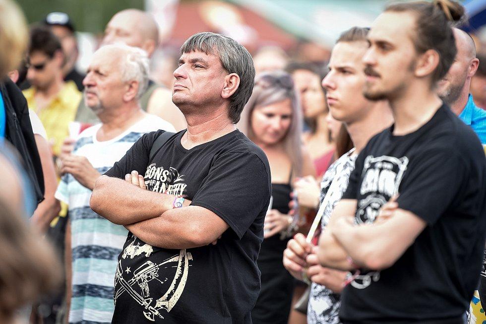 Létofest 2019 v Dolní Oblasti Vítkovic, 10. srpna 2019 v Ostravě.