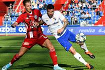 Utkání 14. kola první fotbalové ligy: FC Baník Ostrava - SK Sigma Olomouc, 26. října 2019 v Ostravě. Jakub Plšek