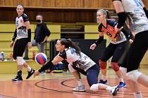 Ostravským volejbalistkám se po restartu extraligy daří. V pátek porazily v Brně Královo Pole 3:0, v sobotu vyhrály 3:1 v Prostějově.