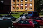 Střelba v městské části Ostrava-Zábřeh na ulici Čujkovova, 10. července 2020.