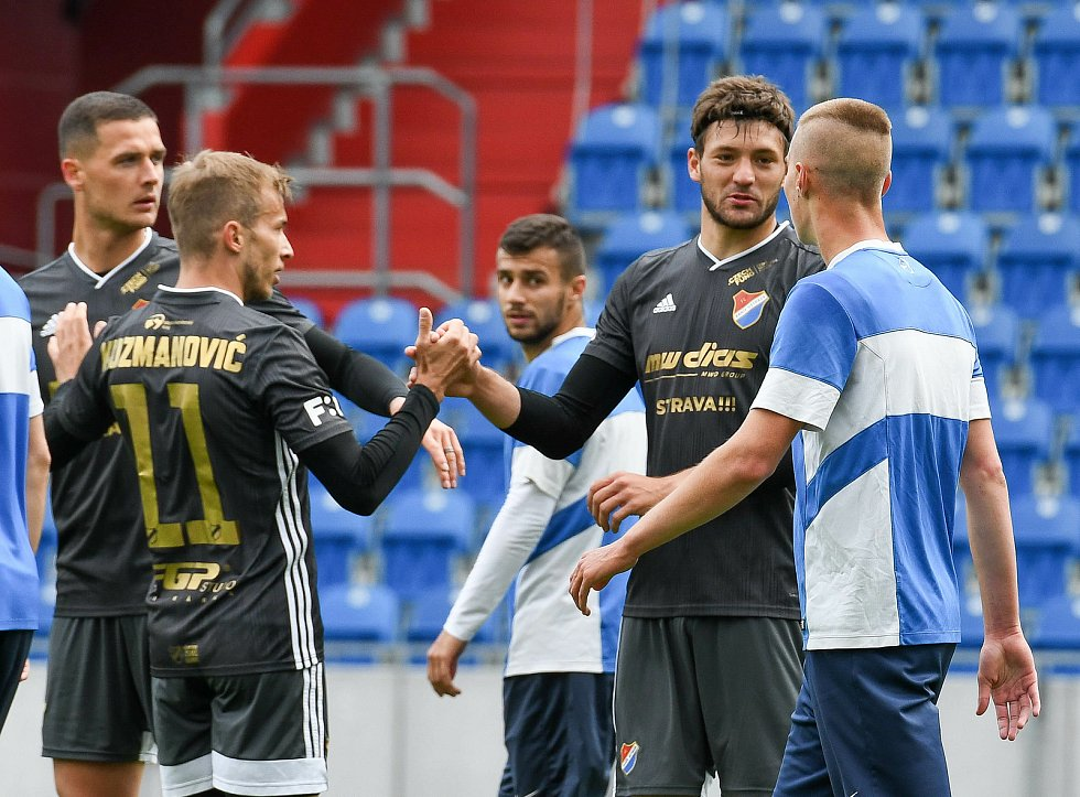 Baník Ostrava - MFK Vítkovice 2:0. Tréninkový zápas na Městském stadionu ve Vítkovicích. Foto: Petr Kotala