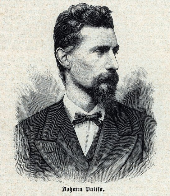 Rakouský astronom Johann Palisa.