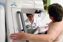 Vyšetření na mamografu