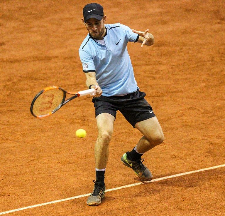 Davis Cup 2018 v Ostravě - Česko vs. Izrael, Dudi Sela