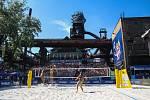 Finále ženy: Agatha Bednarczuk (BRA), Eduarda Santos Lisboa Duda (BRA) - Ana Patricia Silva Ramos (BRA), Rebecca Cavalcanti Barbosa Silva (BRA). FIVB Světové série v plážovém volejbalu J&T Banka Ostrava Beach Open, 2. června 2019 v Ostravě.