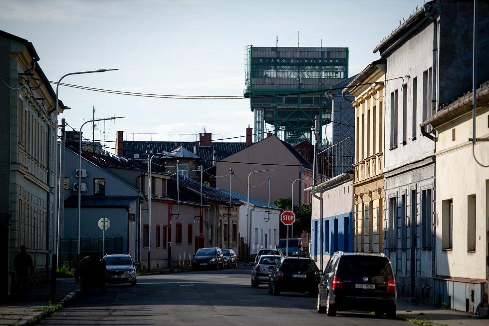 Ghetto ve Vítkovicích (ulice Erbenova), 10. zaří 2019 v Ostravě.